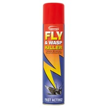 Insect Control, Fly & Wasp Killer, Sanmex, 450ml