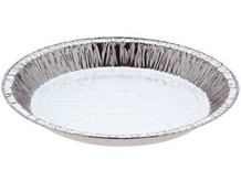 Catering, Foil, Family Pie Tray, 198mm, 100