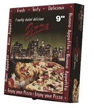 "Catering, Pizza Box, 9"" Manhattan, 100"