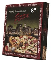 "Catering, Pizza Box, 8"", Manhattan, 100"