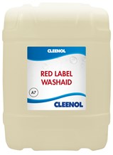 Dishwash Liquid, Cleenol, Red Label, Washaid, 20Ltr