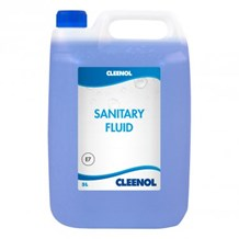 Sanitary Fluid, (Formaldehyde Free), Cleenol, Pine, 5Ltr