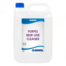 Bar Supplies, Beer Line Cleaner, Cleenol, Purple, 5 Litre