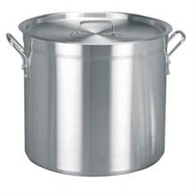 Cookware, Stock Pot, Vogue, Aluminium, 376(D)x400mm, 47.2Ltr
