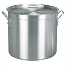 Cookware, Stock Pot, Vogue, Aluminium, 406(D)x440mm, 56.7Ltr