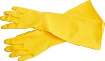 Gloves, Rubber, Deep Sink, Med, 12 Pairs
