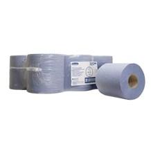 Handwipes, C/Feed, Kimberly Clark 7277, 2Ply, Blue, 150m, 6 Rolls