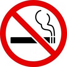 Sign, No Smoking, Symbol, Self Adhesive