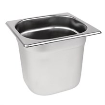 Catering, Gastronorm Pan, S/S, 1/6, 176x162x200mm, 3Ltr