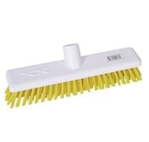 Brush, Hygiene, Deck Scrub, Abbey, Yellow
