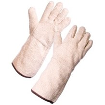 Gloves, Terry Cotton Gauntlet, 48oz, 60 pairs