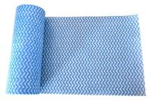 Cloth, Lavette, Roll, Blue, 100