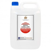 Floor Polish, Nova, Longlife Satin, 5Ltr