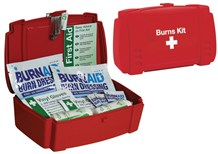 First Aid, Emergency Burns Kit, Medium Content