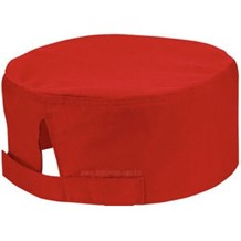 Catering, Wear, Chefs Cool Vent Beanie, Red