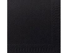 Napkins, Duni, 40cm, 2Ply, Black, 2000
