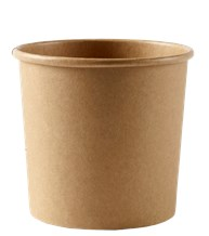 Catering, Soup Container, HD, Kraft, 769ml/26oz, 500