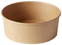 Catering, Salad Bowl, Lge., Kraft, 1090ml, 300