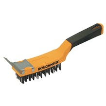 Roughneck Grill Brush With Scraper