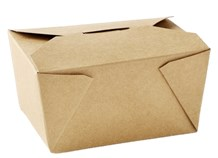 Catering, Food Box, Delibox No.8, 46oz, Kraft, 300