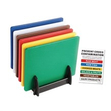 Catering, Chopping Board Set, Colour Coded, 12x455x305, 6