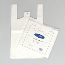 Bags, Carrier, White, Pluto, 10x15x18, 2000