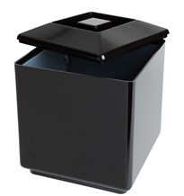 Ice Bucket, Square, Black, 5lLtr/8.8Pts
