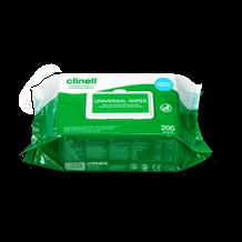 Wipes, Clinell, Bactericidal/Virucidal, 99%, 200