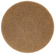 "Floor Pads, British Nova, Brown, 17"", (432mm), 5 Pads"
