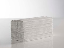 Handtowels, C-Fold, 2Ply White,             23 x 33cm, 2400 Sheet