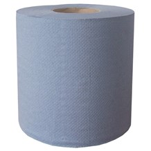 Handwipes, C/Feed, Embos., 2Ply Blue, 150m x 190mm, 6 Rolls