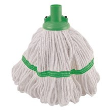 Mop Heads, Hygiemix Socket, Green, 200g