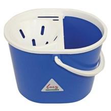 Bucket, Mop, Plastic, Lucy, Oval, Blue