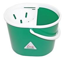 Bucket, Mop, Plastic, Lucy, Oval, Green