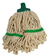 Mop Heads, SYR Freedom, Mini, White Yarn, Green