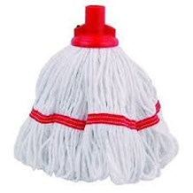 Mop Heads, Hygiemix Socket, Red, 200g
