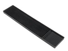 Bar Supp, Bar Mat, Rubber,  610mm x 80mm, Black