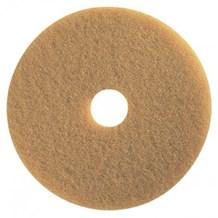 "Floor Pads, British Nova, Tan, 17"", (432mm), 5 Pads"