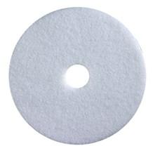 """Floor Pads, British Nova, White, 15"""", (381mm), 5 Pads"""