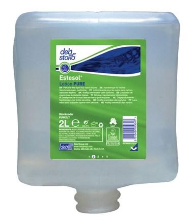 Soap, Hand, DEB Stoko, Estesol Lotion Pure, 4 x 2Ltr