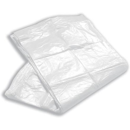 """Refuse Sack, Square Bin Liners, 50G, 15x24x24"""", 1000 Bags"""