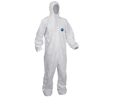 Safety Wear, Coveralls, Tyvek Classic, White, L, 1 x 25