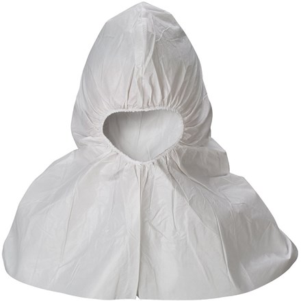 Safety Wear, Caped Hoods, Tyvek, 1 x 250