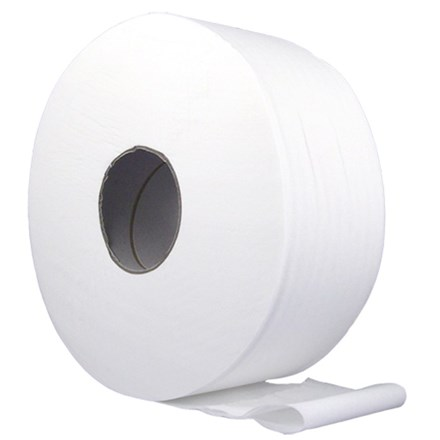 "Toilet Rolls, Jumbo, Value,                 3""/76mm Core, 300m, 6 Rolls"