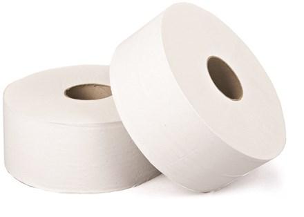 "Toilet Rolls, Mini Jumbo, Premium, 2.25""/60mm  Core, 150m, 12 Rolls"
