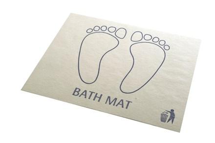 Bath Mats, Disposable, 500 Mats
