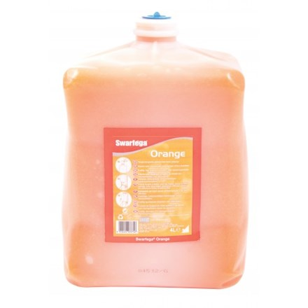 Soap, Hand, DEB Swarfega, Orange, 4 x 4 Ltr