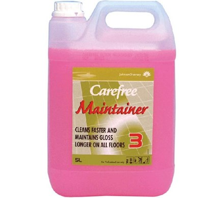 Floor Polish, Carefree Maintainer, 5Ltr