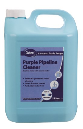 Bar Supp. Beer Line Cleaner - Odex Purple, 2 x 5Ltr