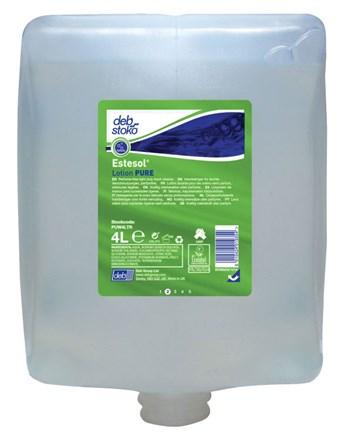 Soap, Hand, DEB Stoko, Estesol Lotion Pure, 4 x 4Ltr
